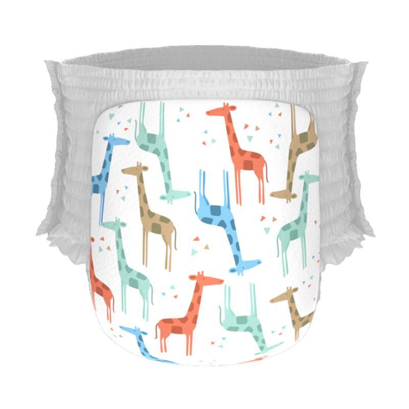 Happy Diapers Pant Popok Bayi - Giraffe [Size L/26 pcs/A07]