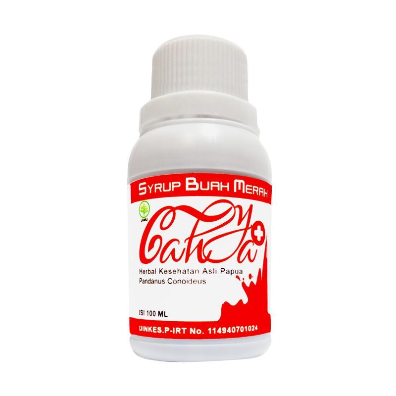 Herbal Buah Merah Papua Cair Suplemen Kesehatan [100 mL]
