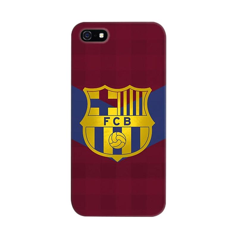 Indocustomcase FC Barcelona 04 Cover Casing for iPhone 5/5S/SE