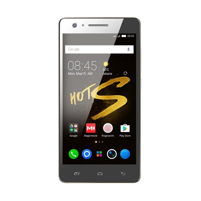 Infinix Hot S X521 Smartphone - Gold [16GB/ 2GB/ 4G Ready]