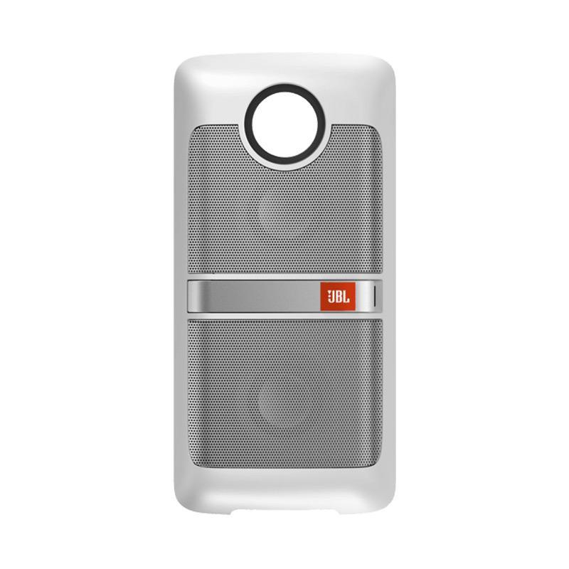 JBL Speaker Mods for Moto Z or Moto Z Play - White