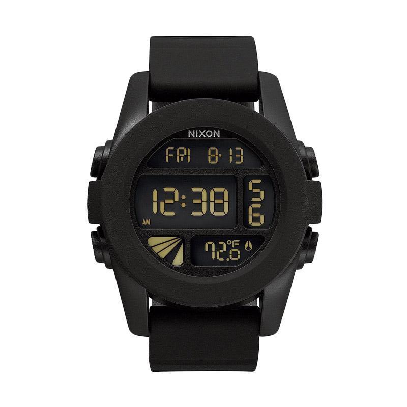 Nixon A197000 Unit Digital Watch Jam Tangan Pria - Black
