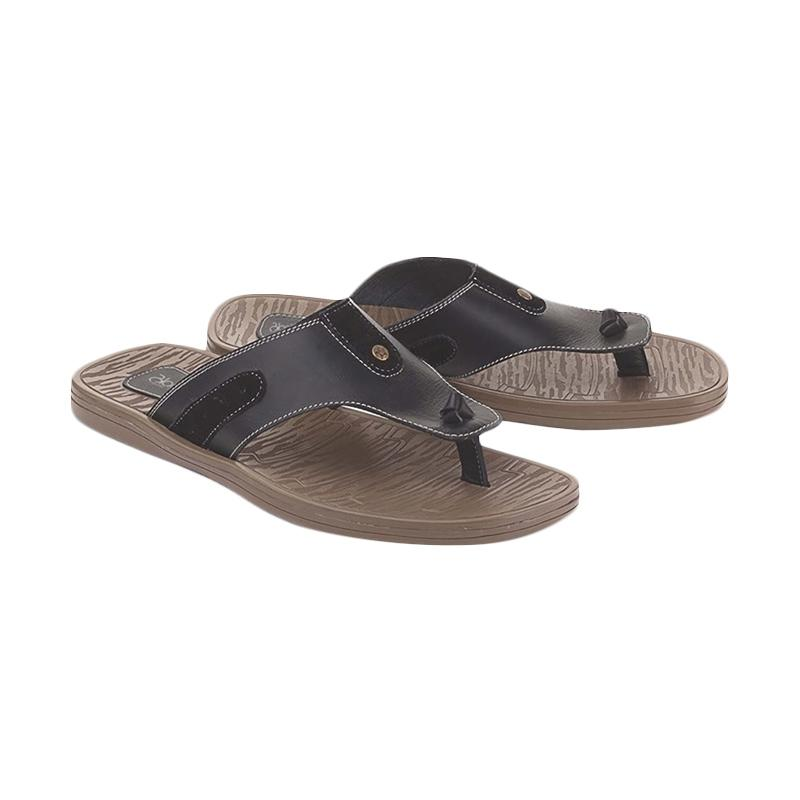 Blackkelly Marema LSM 676 Sandal Casual Pria - Hitam