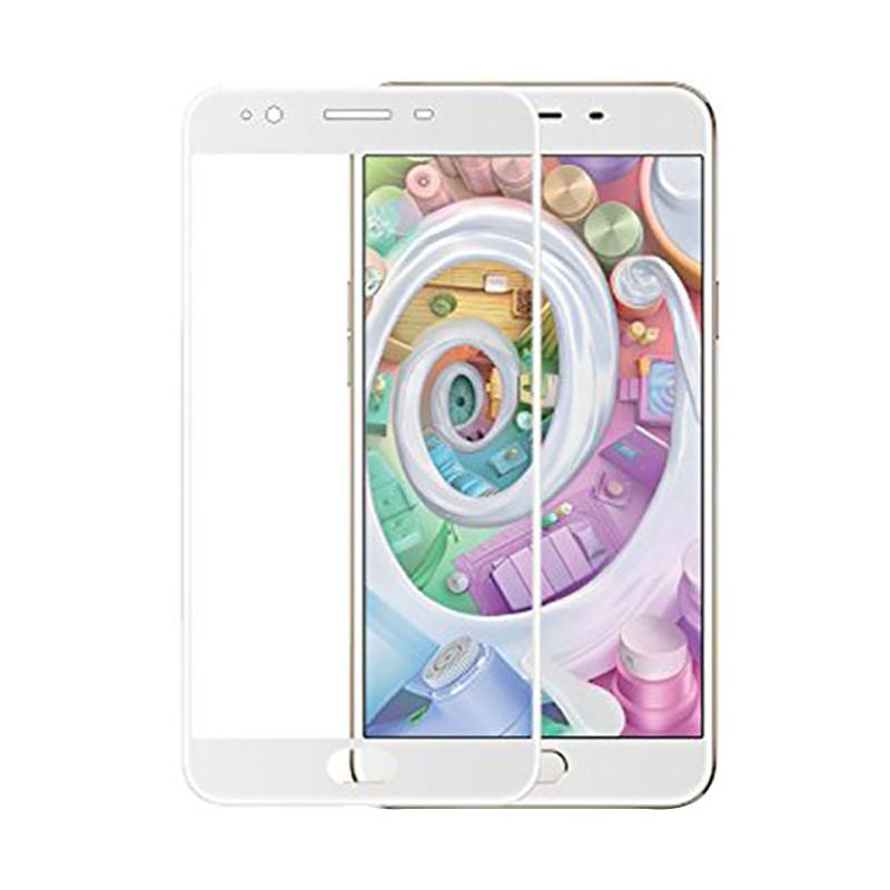 Tempered Glass Full Screen Protector for OPPO Mirror 5 - List Putih