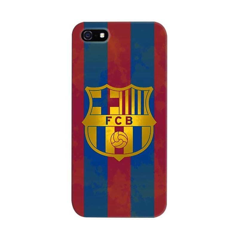 docustomcase FC Barcelona 05 Cover Casing for iPhone 5/5S/SE