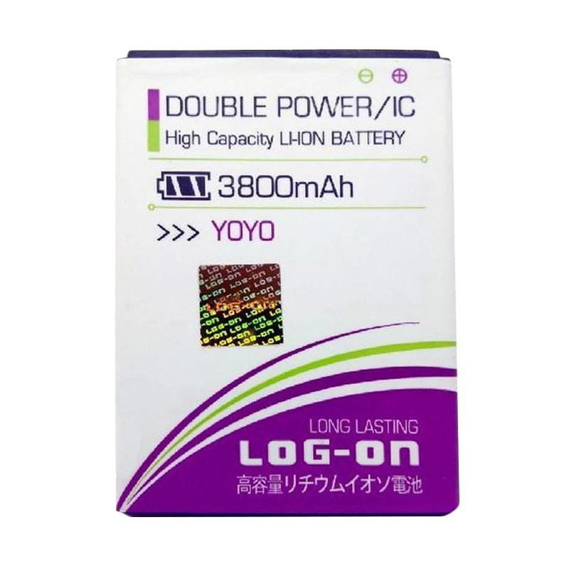 Log On Double Power Batterai for Oppo Yoyo [3800 mAh]