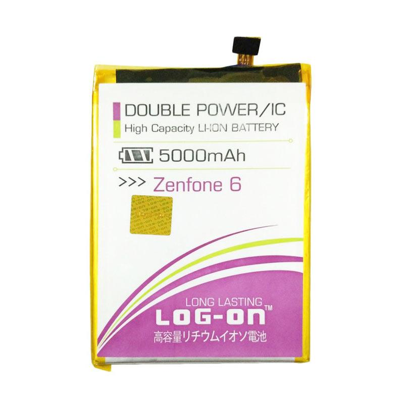 Log On Double Power Batery for Asus Zenfone 6 [5000 mAh]