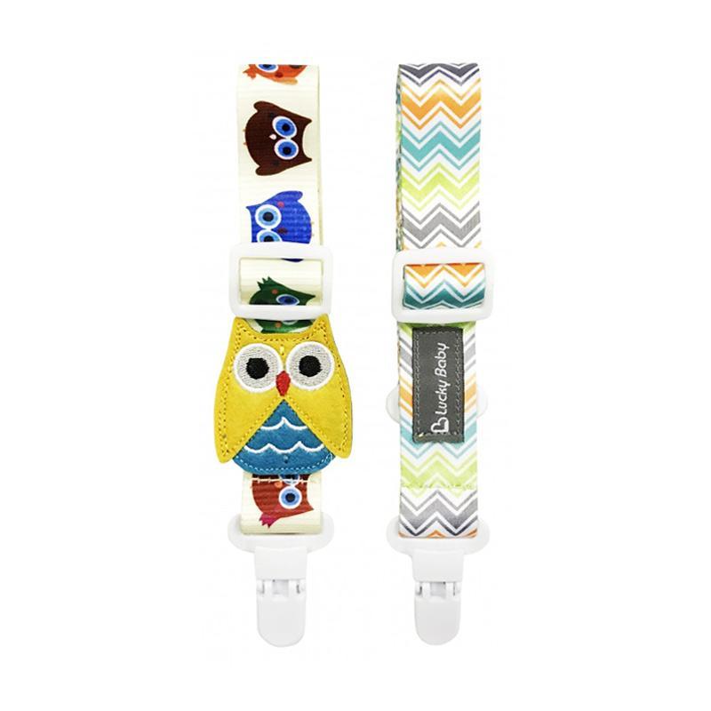 Lucky Baby Klipz On Adjustable Strap - Owl
