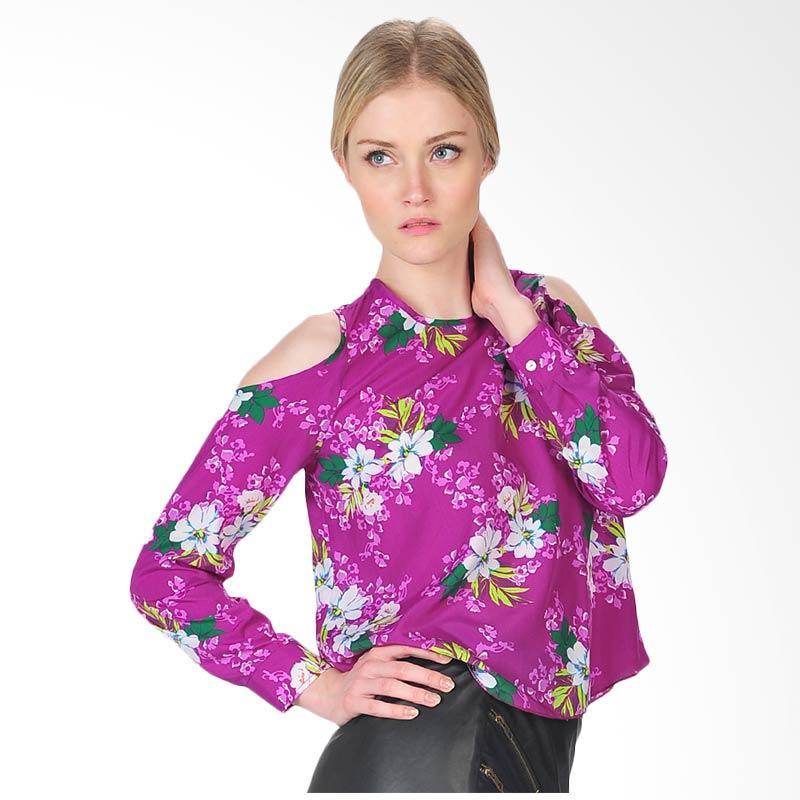 SJO's Palermo Women's Blouse - Purple