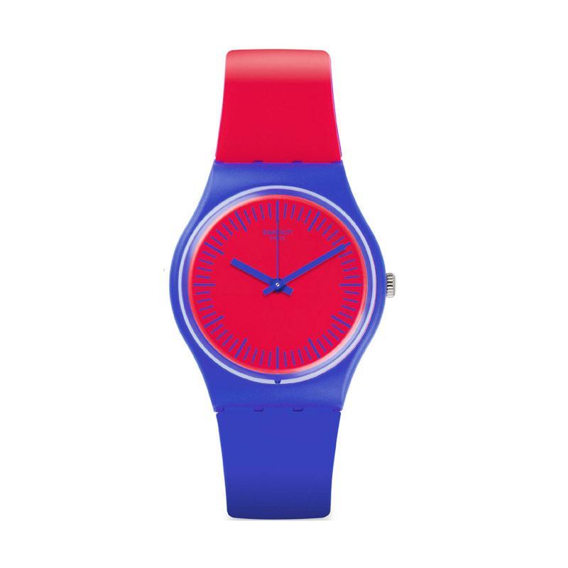 Harga Jam Tangan Swatch Original 100% Gs148 Blue Loop Casual Trendy ... 12ec1dc0cb