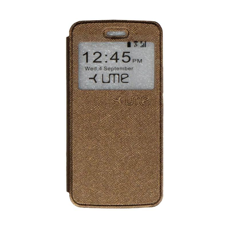 UME Flipshell Flip Cover Casing for Himax M2 - Brown