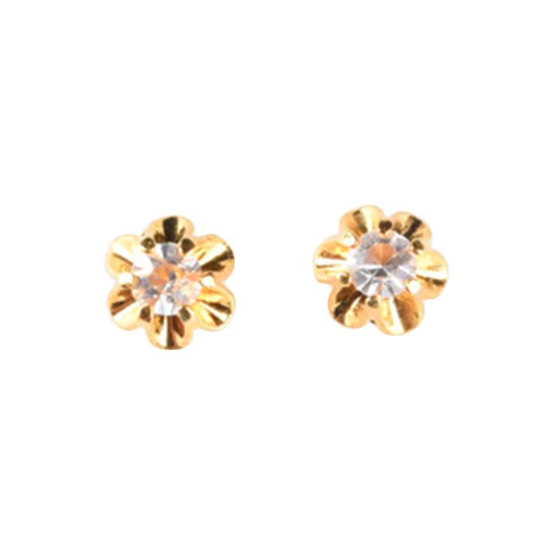 1901 Jewelry Alisya Earring GW.3281.HR49 Anting - Gold