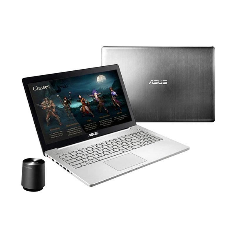 Asus N550JV-CN301D Notebook - Silver [15.6 Inch/i5-4200/8 GB/1 TB/GT750M]