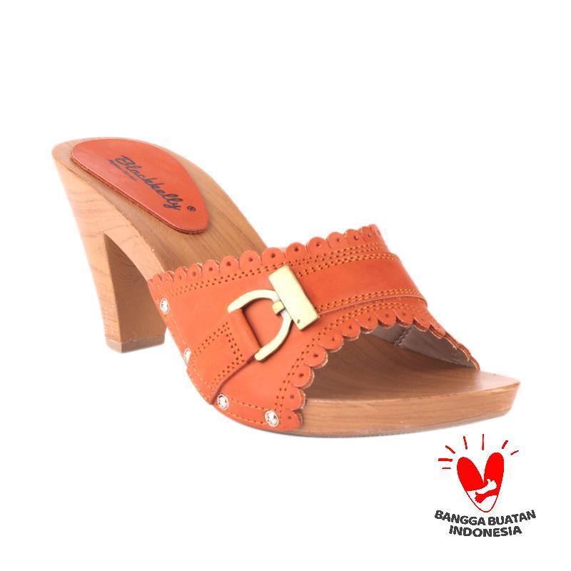 Blackkelly Heels Woody LJI 725 Sandals Wanita