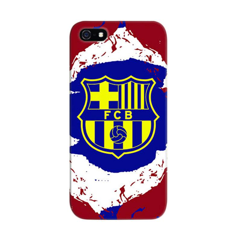 Indocustomcase FC Barcelona 06 Cover Casing for iPhone 5/5S/SE