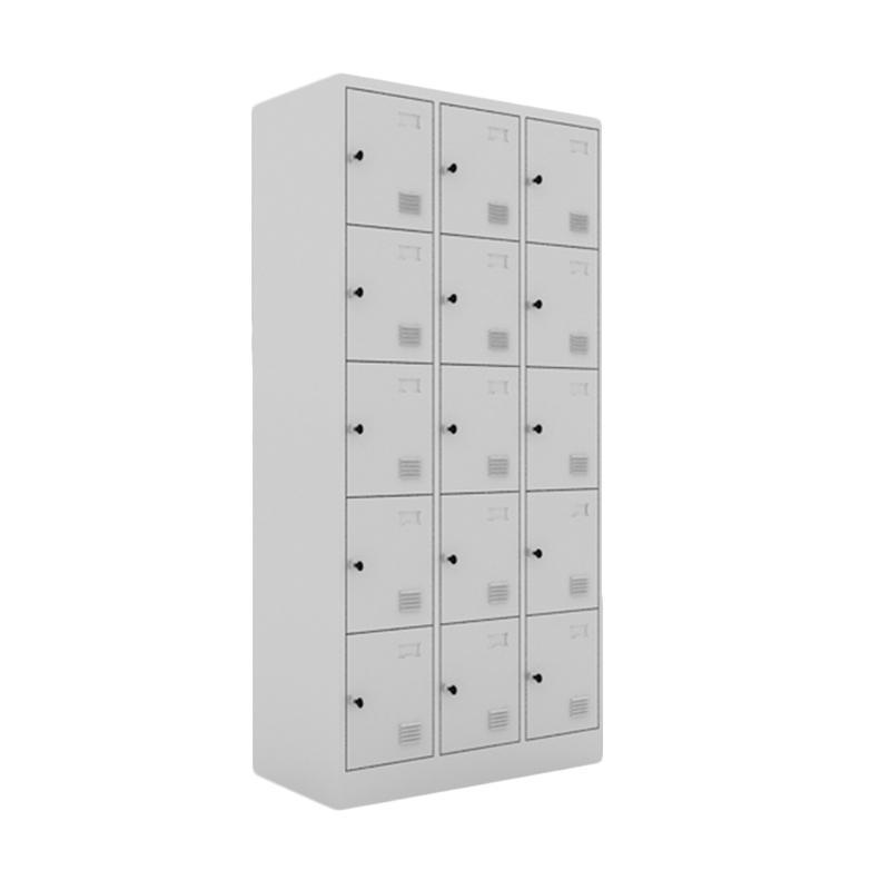 Prissilia Chou Steel Locker 15 Doors