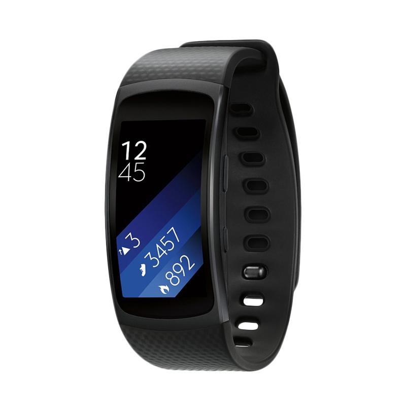 Samsung Gear Fit 2 Large Smartwatch - Dark Grey