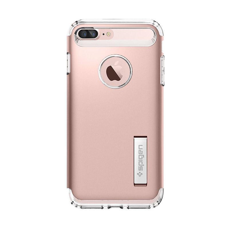 harga Spigen Slim Armor Casing for iPhone 7 Plus - Rose Gold