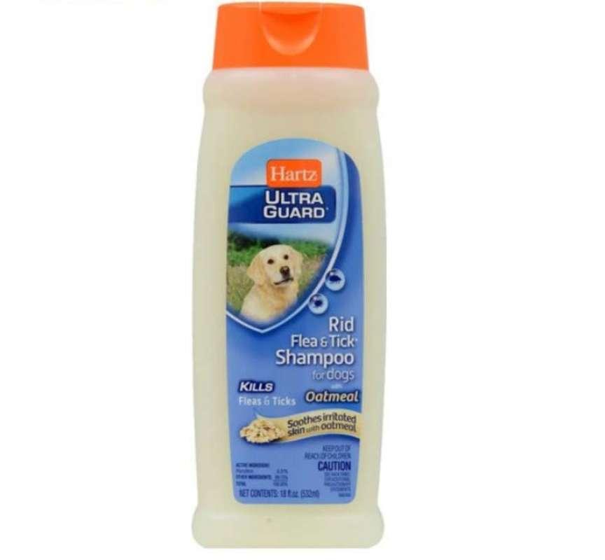 Shampoo Kutu Anjing Hartz Ultra Guard Rid Flea Oatmeal Shampoo