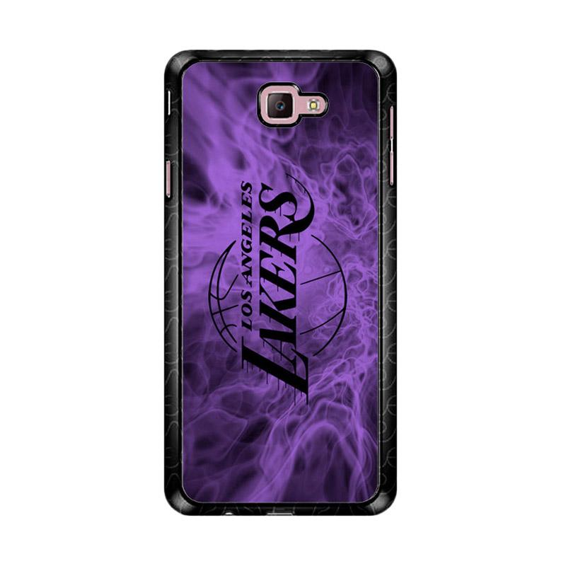 Flazzstore La Lakers Z4762 Custom Casing for Samsung Galaxy J7 Prime