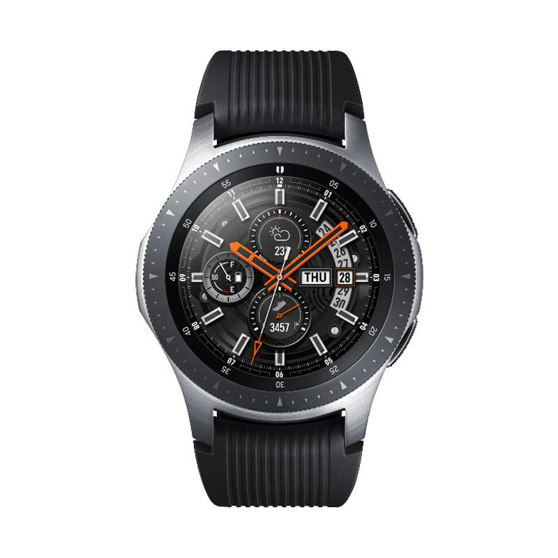 Jual Samsung Galaxy Watch S4 Smartwatch [46 mm] Silver Online November 2020  | Blibli.com