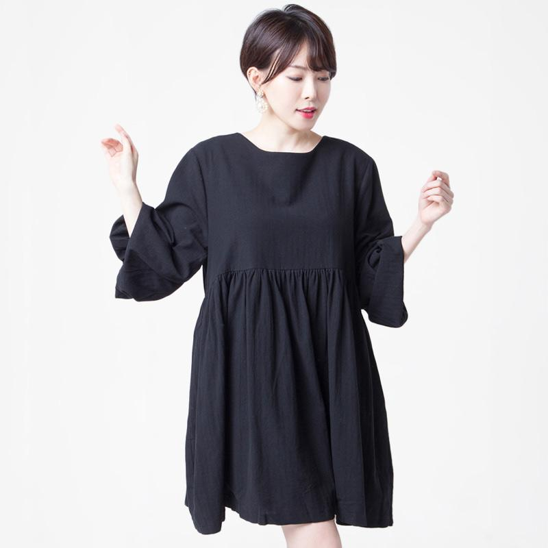 Merongshop Cotton Puff Dress