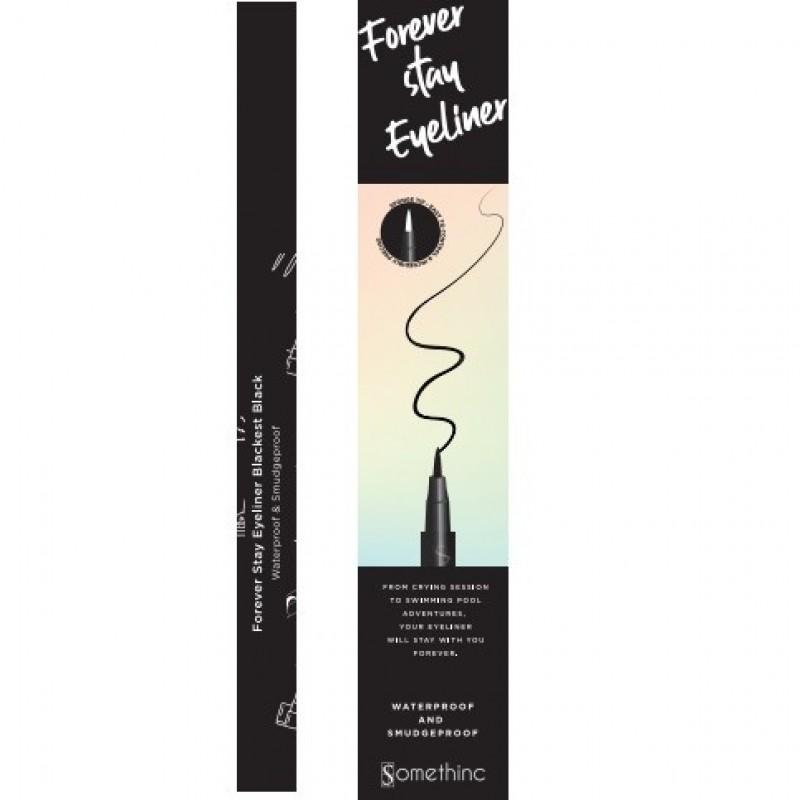 SOMETHINC Forever Stay Waterproof Liquid Eyeliner