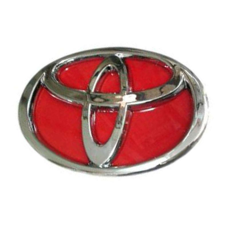 Jual Toyota Logo Toyota Background Merah Emblem Aksesoris Mobil Online Maret 2021 Blibli