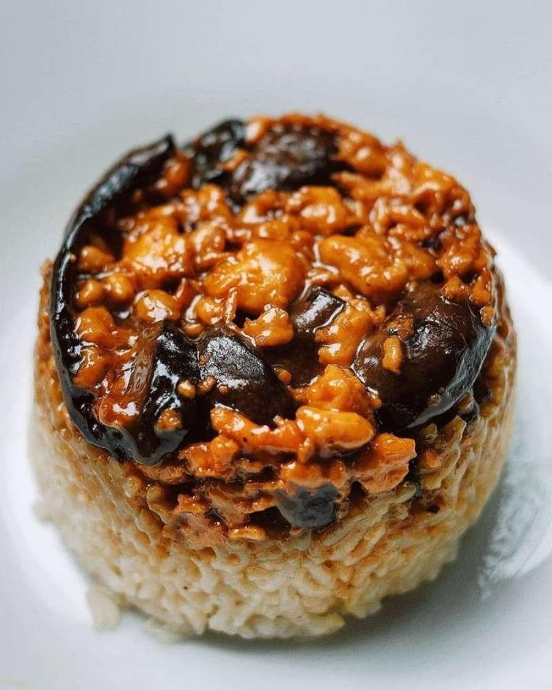 Nasi Tim Ayam Jamur 168 HALAL