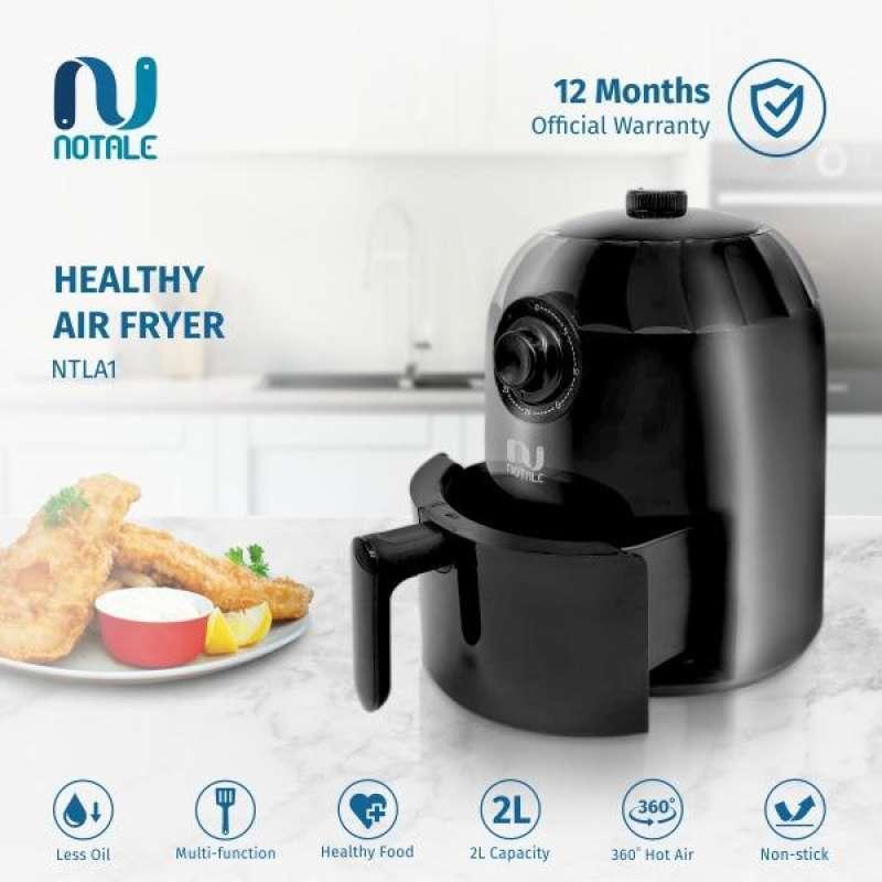 Notale Compact Air Fryer Penggoreng Tanpa Minyak No Oil 800W 2L
