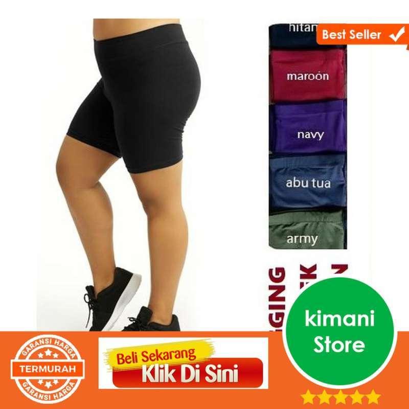 Jual Grosir Celana Leging Pendek Jumbo Short Bb 55 90kg Shot Jumbo Keren Online Oktober 2020 Blibli Com
