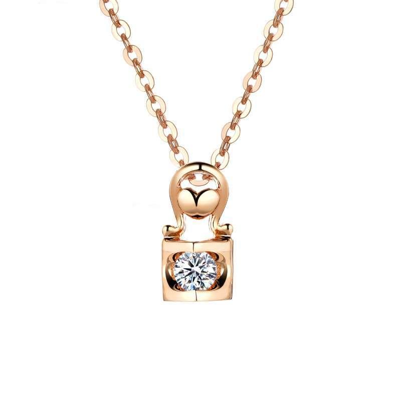 Jual Adelle Jewellery Diamond Pendant Pd0707 10 R Liontin Berlian Wanita Rose Gold Online November 2020 Blibli Com