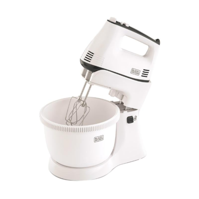 Daily Deals - Black & Decker M700-B1 Stand Mixer with Bowl - Putih