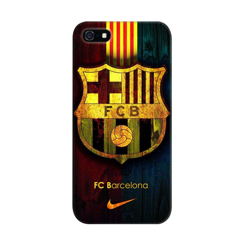 Indocustomcase FC Barcelona 07 Cover Casing for iPhone 5/5S/SE