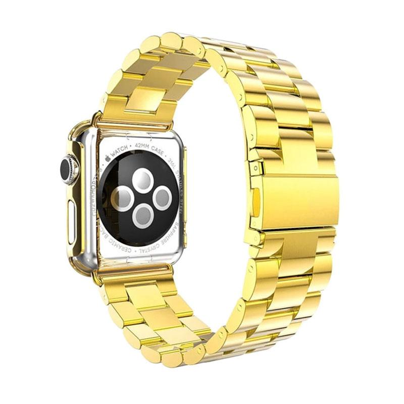iStomp 3 Blok Metal Band for Apple Watch 38mm - Gold