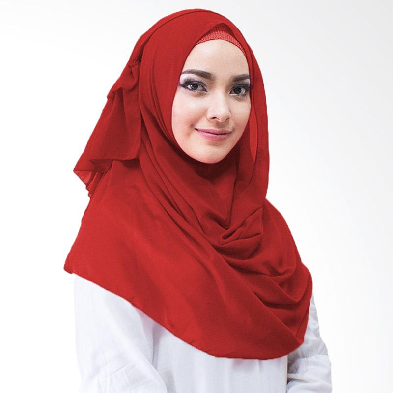 Milyarda Hijab Aime Kerudung Instan - Merah
