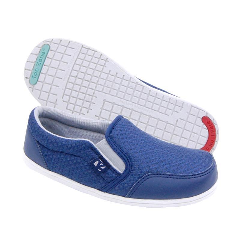 Toezone Kids Tampa Flex Yt Sepatu Anak Laki Laki - Navy Grey
