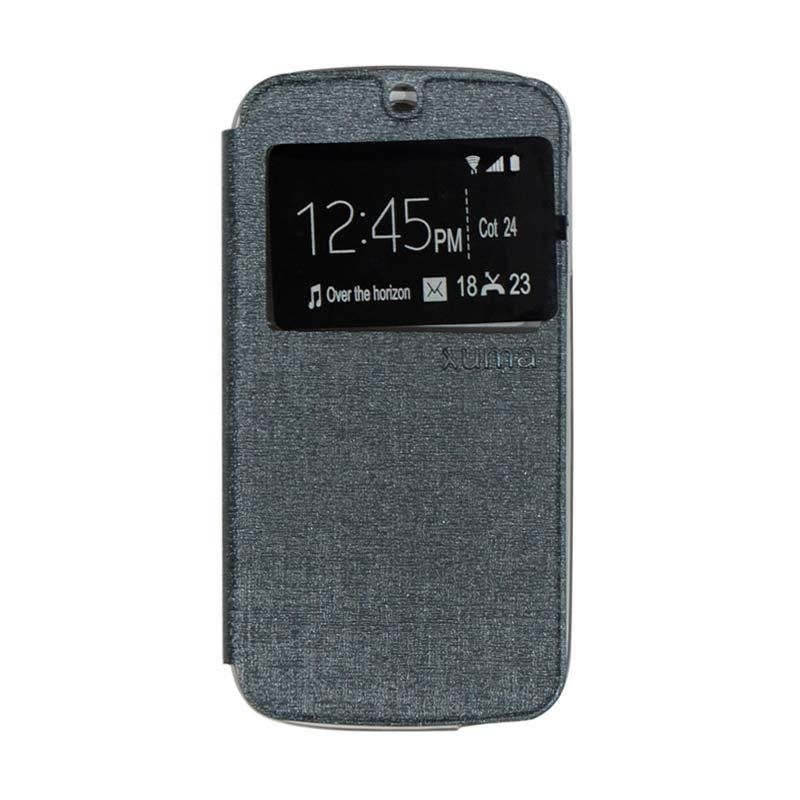 Ume Flip Cover Casing for Acer Liquid Jade S55 - Silver