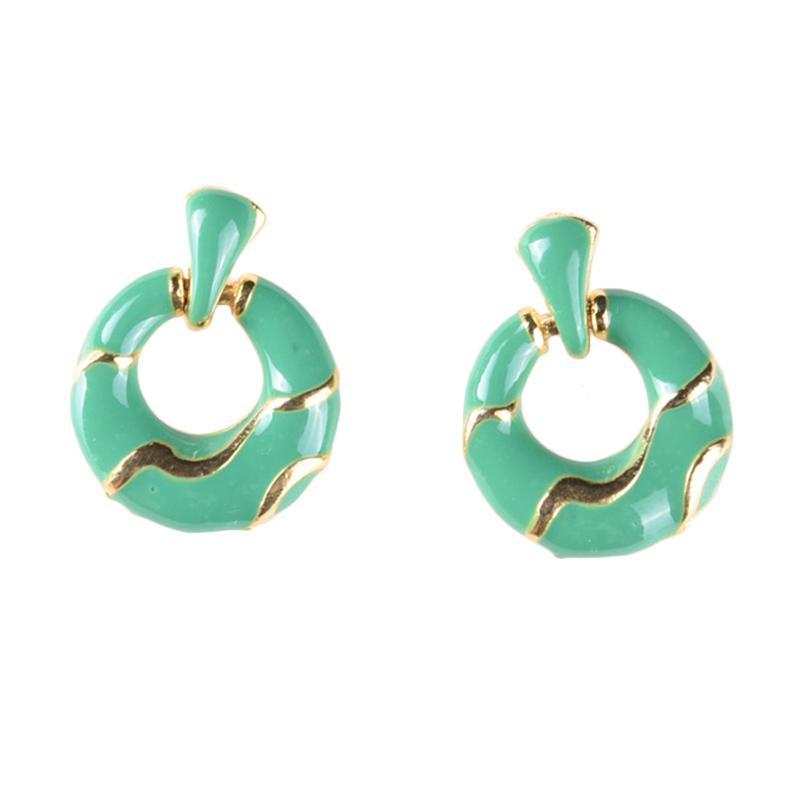 1901 Jewelry Avale Earring GW.4066.HR51GR Gold Anting