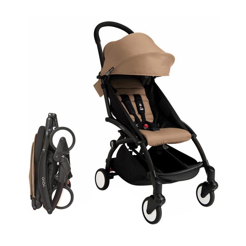 Babyzen Yoyo 6+ Plus Baby Stroller - Taupe [Complete Set]