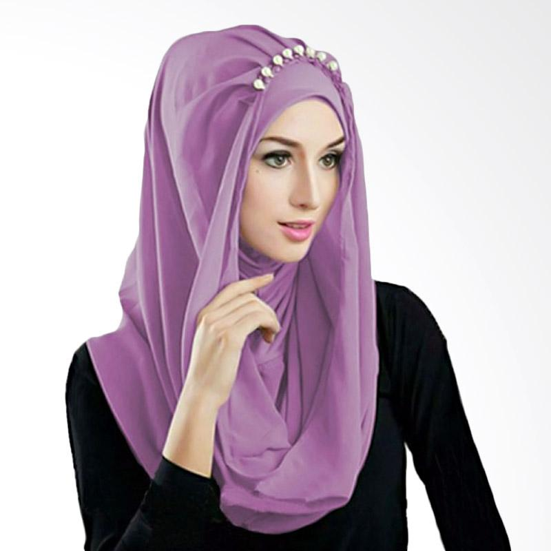Kus Group Hijab Deeja Pearly Bergo - Lavender
