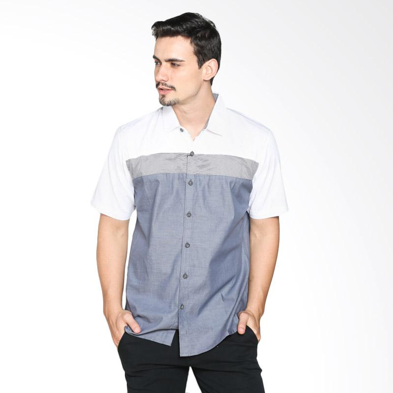 Red Cliff ZB1883JF Smart Casual Shirt - White Grey Extra diskon 7% setiap hari Extra diskon 5% setiap hari Citibank – lebih hemat 10%