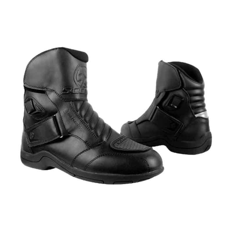 Scoyco MBT 011-W Waterproof Sepatu Boots - Black 866c669588