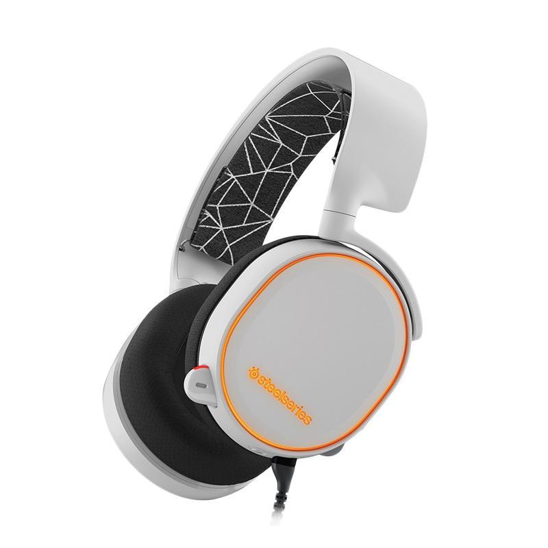 SteeSeries Arctis 5 Gaming Headset - White