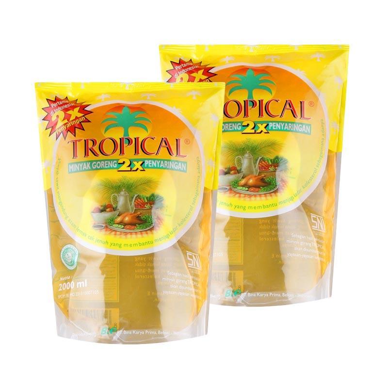 CNY - Tropical Minyak Goreng Pouch [2000 mL/2 pouch]