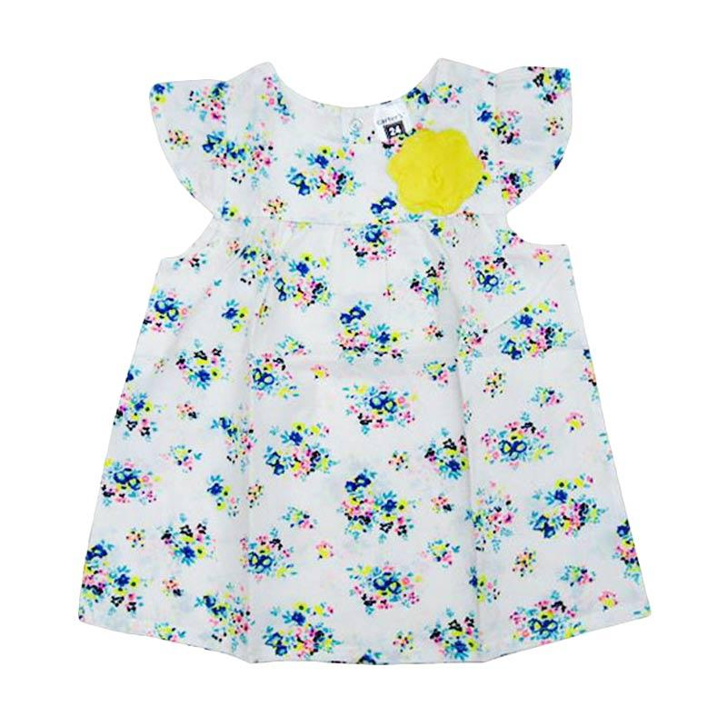 Wonderland CRT Flower Dress Anak - Yellow