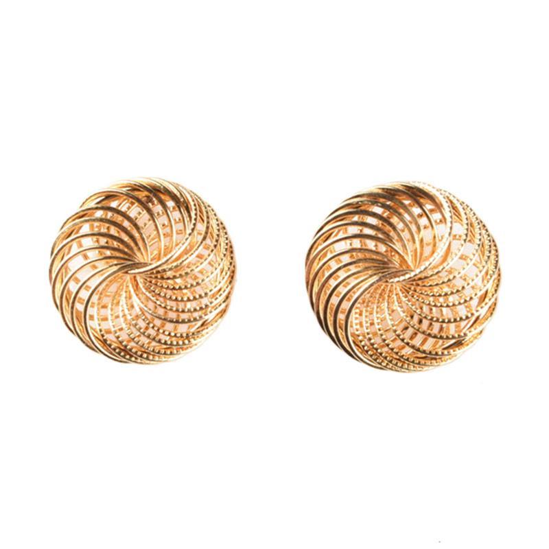 1901 Jewelry Widuri Studs GW.2570.HR43 Gold Anting