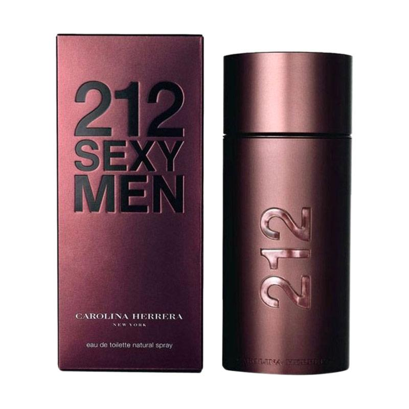 Carolina Herrera 212 Sexy Men EDT Parfum Pria [100 mL] Ori Tester Non Box