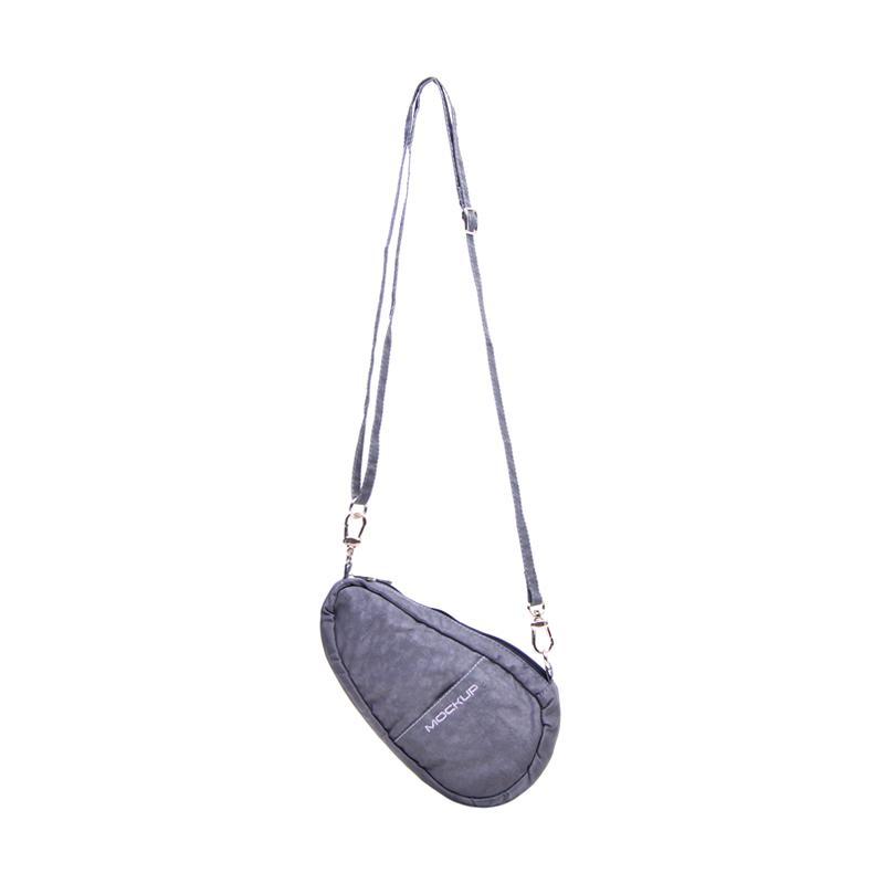 Mini Bean Sling Bag Mockup BSL 02 Tas Unisex - Grey