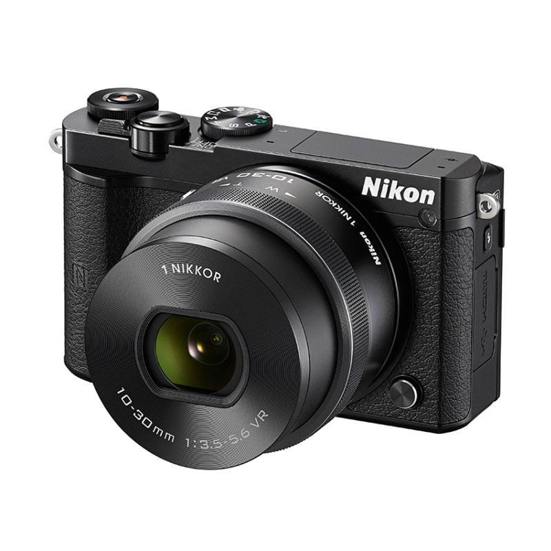 harga Nikon 1 J5 (Black) WiFi 4K 15fps Video Mirrorless Camera + 1 NIKKOR VR 10-30mm f/3.5-5.6 PD-ZOOM Lens KameraKamera Blibli.com